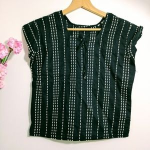 Minimalist Vintage Crochet Crop Top